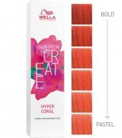 "Wella Professional Color Fresh Create - Оттеночная краска ""Гипер-коралл"""
