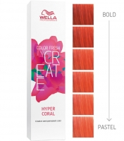 "Wella Professional Color Fresh Create - Оттеночная краска ""Гипер-коралл"""