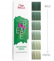 "Wella Professional Color Fresh Create - Оттеночная краска ""Тропический зелёный"""