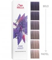 """Wella Professional Color Fresh Create - Оттеночная краска """"Сиреневый шифон"""""""