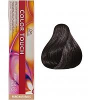 Wella Professional Color Touch Pure Naturals - 3/0 темно-коричневый