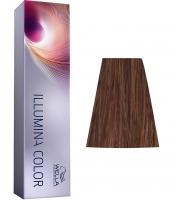 Wella Professional Illumina Color - 5/35 светло-коричневый золотисто-махагоновый