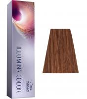 Wella Professional Illumina Color - 5/43 светло-коричневый красно-золотистый