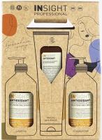 Insight косметический набор Antioxidant, для перегруженных волос: Шампунь, 400 мл + Кондиционер, 400 мл + Маска, 250 мл