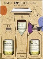 Insight Набор ANTI-FRIZZ для разглаживания непослушных волос (шампунь и кондиционер 400 мл + маска 250 мл)