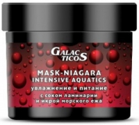 Galacticos Professional EUROPA MASK NIAGARA INTENSIVE AQUATICS - Маска  для сухих и нормальных волос для увлажнения и питания