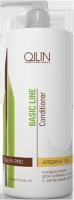 Ollin Professional Basic Line - Кондиционер для сияния и блеска с аргановым маслом