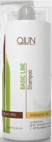 Ollin Professional Basic Line - Шампунь для сияния и блеска с аргановым маслом