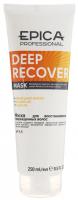 Epica Professional маска для поврежденных волос с маслом сладкого миндаля и экстрактом ламинарии Deep Recover