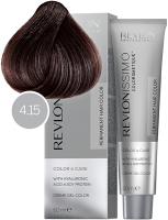 Revlon Professional Revlonissimo Colorsmetique - 4.15 коричневый пепельно-махагоновый