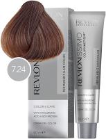 Revlon Professional Revlonissimo Colorsmetique - 7.24 светло-карамельный