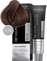 Revlon Professional Revlonissimo High Coverage - 5.41 насыщенный светлый орех