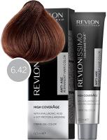Revlon Professional Revlonissimo High Coverage - 6.42 перламутрово-коричневый темный блондин