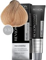 Revlon Professional Revlonissimo High Coverage - 9.32 перламутрово-золотой очень светлый блондин