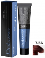 Estel Professional De Luxe - Крем-краска De Luxe 7/56 русый красно-фиолетовый