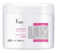 Kezy MyTherapy Post Color Mask - Маска для окрашенных волос с экстрактом граната, 500 ml