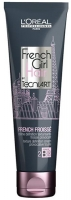 L'Oreal French Girl Hair French Froisse Styling Cream - Крем для плотных волос для создания небрежной французской текстуры по всей длине волос (фикс. 2)