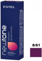 Estel Newtone - Тонирующая маска для волос  8/61 Светло-русый фиолетово-пепельный