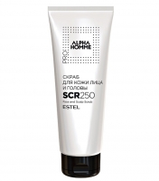 Estel Alpha Homme Pro - Скраб для кожи лица и головы