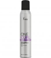 Kezy One Curl Mild Semi-Permanent Wave - Однофазная полустойкая щадящая завивка с серицином и экстрактом фиалки