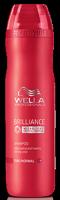 Wella Brilliance Line Шампунь для окрашенных жестких волос