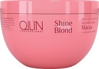 OLLIN SHINE BLOND Маска с экстрактом эхинацеи для светлых волос