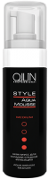 OLLIN STYLE Аква мусс для укладки сильной фиксации, 150 ml