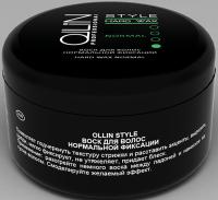 OLLIN Style Воск для волос нормальной фиксации, 75 ml